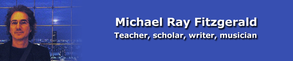 Michael Ray Fitzgerald header image